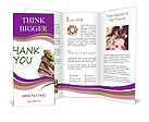 Written Thank You Note Brochure Templates