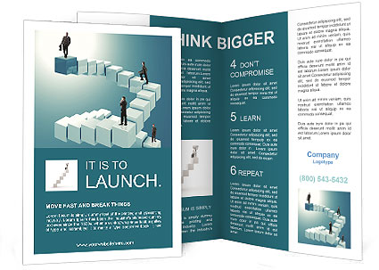 Career Development Stages Brochure Template Design Id 0000003876