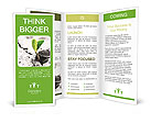 Small Green Plant Brochure Templates