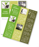 Small Green Plant Newsletter Template