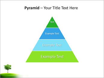 Un seul arbre dans la vallée Modèles des présentations  PowerPoint - Diapositives 10