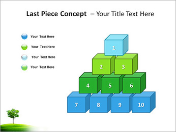 Un seul arbre dans la vallée Modèles des présentations  PowerPoint - Diapositives 11