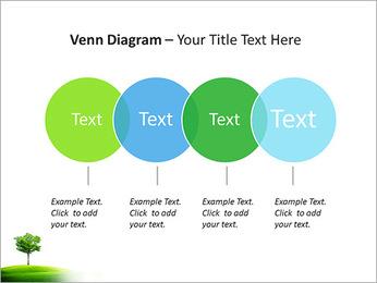 Un seul arbre dans la vallée Modèles des présentations  PowerPoint - Diapositives 12