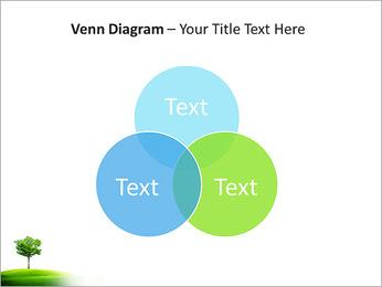 Un seul arbre dans la vallée Modèles des présentations  PowerPoint - Diapositives 13