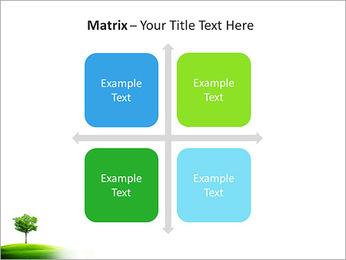 Un seul arbre dans la vallée Modèles des présentations  PowerPoint - Diapositives 17