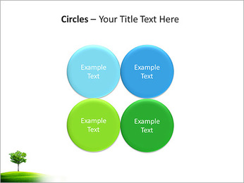 Un seul arbre dans la vallée Modèles des présentations  PowerPoint - Diapositives 18
