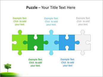 Un seul arbre dans la vallée Modèles des présentations  PowerPoint - Diapositives 21
