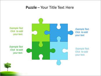 Un seul arbre dans la vallée Modèles des présentations  PowerPoint - Diapositives 23