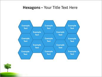Un seul arbre dans la vallée Modèles des présentations  PowerPoint - Diapositives 24