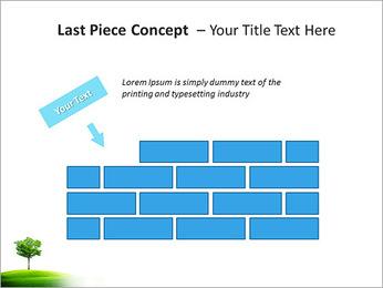 Un seul arbre dans la vallée Modèles des présentations  PowerPoint - Diapositives 26