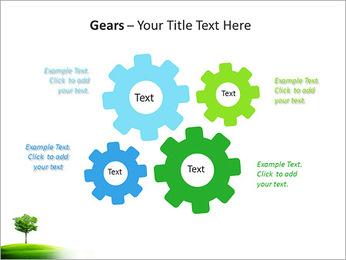 Un seul arbre dans la vallée Modèles des présentations  PowerPoint - Diapositives 27
