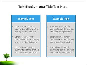 Un seul arbre dans la vallée Modèles des présentations  PowerPoint - Diapositives 37