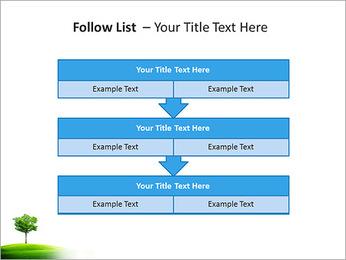 Un seul arbre dans la vallée Modèles des présentations  PowerPoint - Diapositives 40