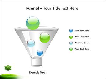Un seul arbre dans la vallée Modèles des présentations  PowerPoint - Diapositives 43