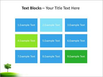 Un seul arbre dans la vallée Modèles des présentations  PowerPoint - Diapositives 48