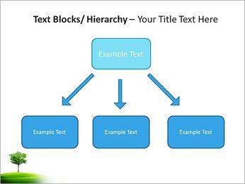 Un seul arbre dans la vallée Modèles des présentations  PowerPoint - Diapositives 49