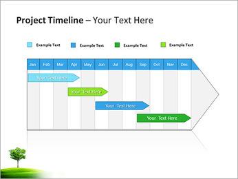Un seul arbre dans la vallée Modèles des présentations  PowerPoint - Diapositives 5