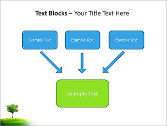 Un seul arbre dans la vallée Modèles des présentations  PowerPoint - Diapositives 50