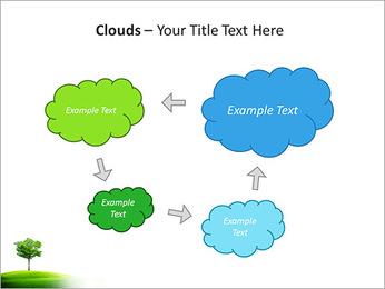 Un seul arbre dans la vallée Modèles des présentations  PowerPoint - Diapositives 52