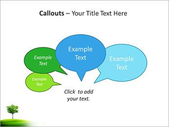 Un seul arbre dans la vallée Modèles des présentations  PowerPoint - Diapositives 53