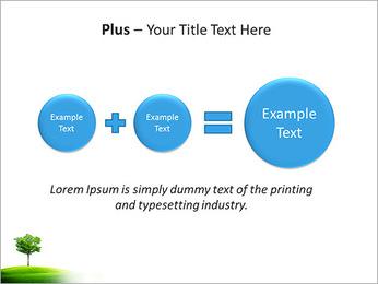 Un seul arbre dans la vallée Modèles des présentations  PowerPoint - Diapositives 55