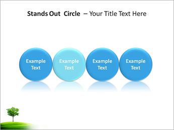 Un seul arbre dans la vallée Modèles des présentations  PowerPoint - Diapositives 56