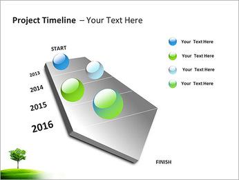 Un seul arbre dans la vallée Modèles des présentations  PowerPoint - Diapositives 6