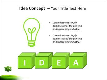 Un seul arbre dans la vallée Modèles des présentations  PowerPoint - Diapositives 60