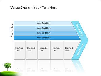 Un seul arbre dans la vallée Modèles des présentations  PowerPoint - Diapositives 7
