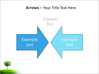 Un seul arbre dans la vallée Modèles des présentations  PowerPoint - Diapositives 70