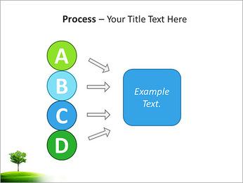Un seul arbre dans la vallée Modèles des présentations  PowerPoint - Diapositives 74