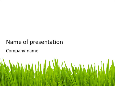 Green grass powerpoint template backgrounds google slides id green grass powerpoint template toneelgroepblik Images