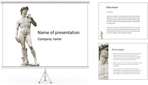 David PowerPoint Template