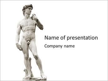 David PowerPoint Template - Slide 1