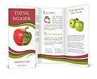 Combination Of Apple And Pepper Brochure Templates