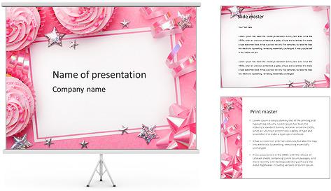 Скачать шаблону презентацию с днем рождения