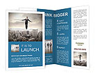Businessman Risk Manadgment Brochure Templates
