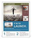 Businessman Risk Manadgment Flyer Template