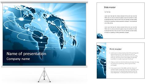 Language  PowerPoint Template  SmileTemplatescom
