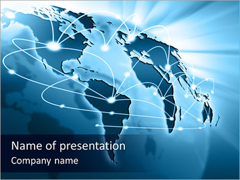 International Communication PowerPoint Template