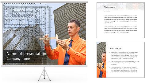 Arquiteto no Trabalho Modelos de apresentações PowerPoint