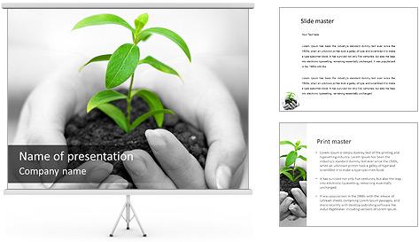 Campagne Sauvegarder Nature Modèles des présentations  PowerPoint