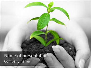 Save Nature Campaign PowerPoint Template