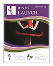 Professional Woman Dancer Flyer Templates