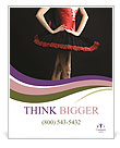 Professional Woman Dancer Poster Templates