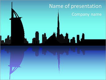 United Arabian Emirates PowerPoint Template