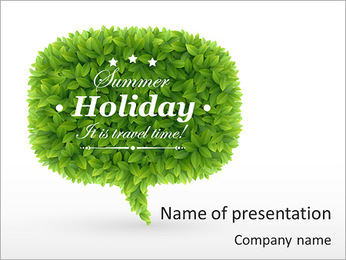 Summer Time PowerPoint Template
