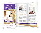 Dog At Vet Clinic Brochure Templates