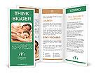 Enjoying Massage Brochure Templates