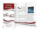Broken Metal Chain Brochure Templates